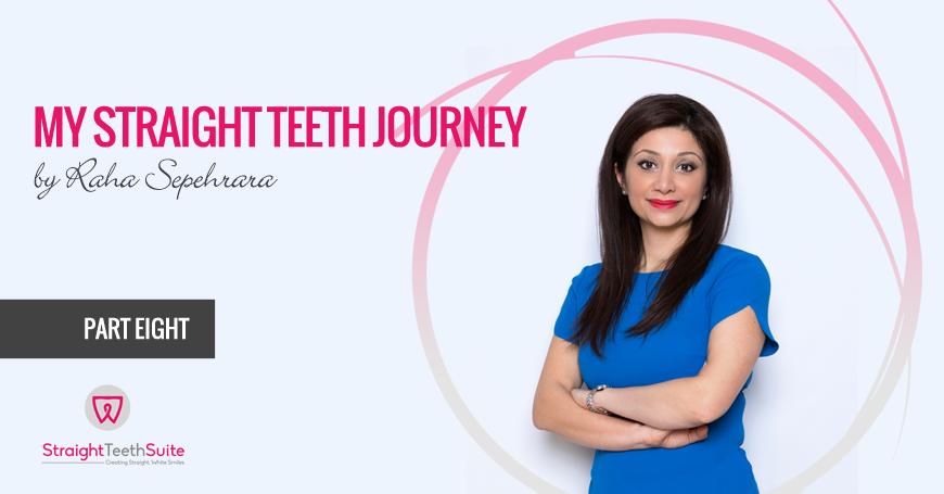 My Straight Teeth Journey By Raha Sepehrara in Nottingham: Part E